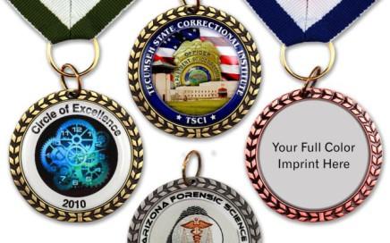 die cast medal recognition