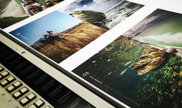 Digital printing photography books