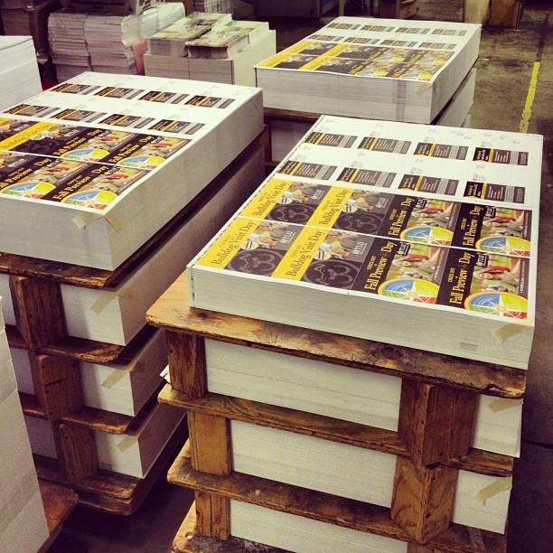 Brochure printing dallas area