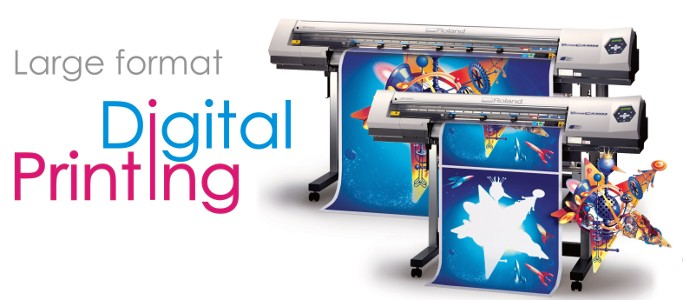 Latest technology for digital printing.