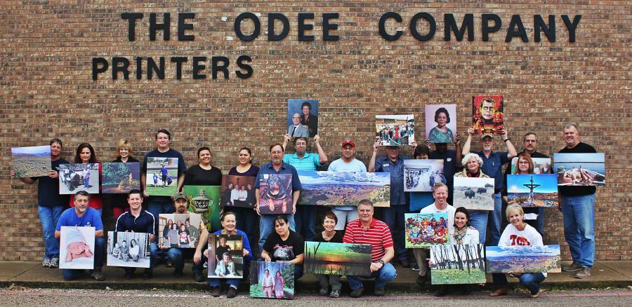 Staff printing company: The Odee Company