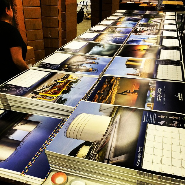 printed calendar fulfillment services