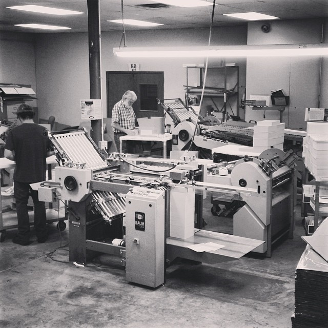 bindery section