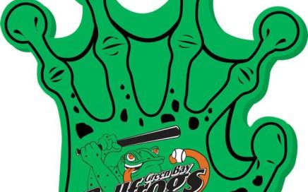 promotional green foam finger in Dallas